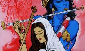 Krishna & Mirabai