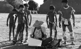'Um Impressão de parque Xingu'